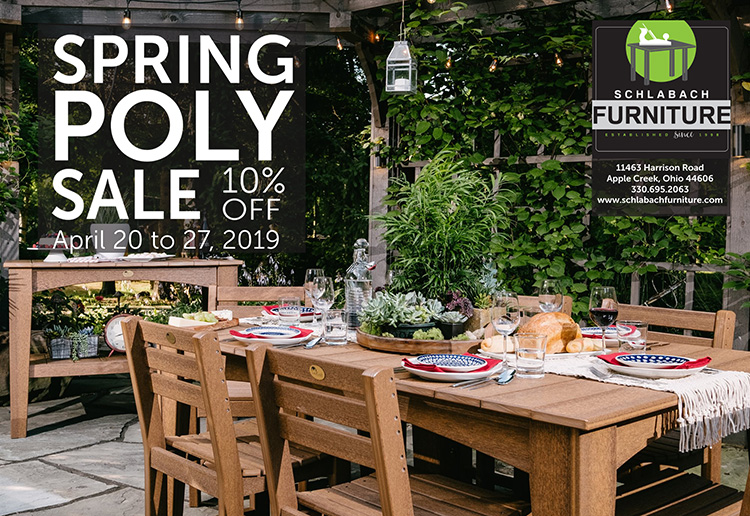schlabach furniture spring sale 2019